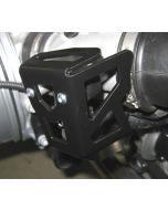 Schutz Drosselklappenpoti, für BMW R1200R (2006 bis 2010), R1200GS, R1200GS/Adv, RnineT/ RnineT Urban G/S, schwarz beschichtet