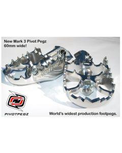 Pivot Pegz -Gelenkfußrasten *Mark3* für BMW R1250GS Adventure/ R1200GS (LC) /BMW R1200GS Adventure (LC)
