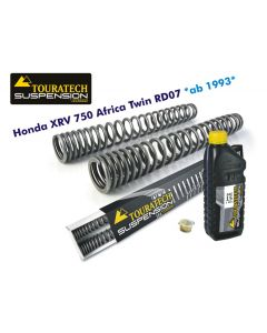 Progressive replacement fork springs, for XRV750 Africa Twin RD07 from 1993