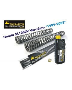 Hyperpro progressive replacement fork springs, Honda XL1000V Varadero >1999 - 2002
