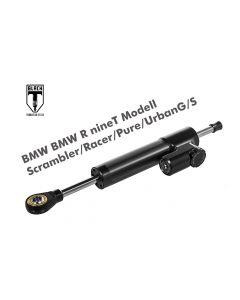 Black-T Steering Damper CSC for BMW RnineT Modell Scrambler/Racer/Pure/UrbanG/S from 2016 incl. installation kit
