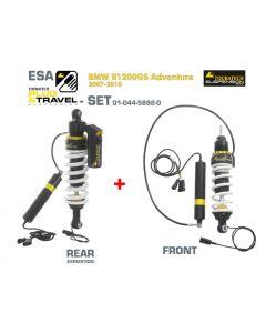 Touratech Suspension Plug & Travel-ESA Expedition SET für BMW R1200GS Adventure Model 2007-2010