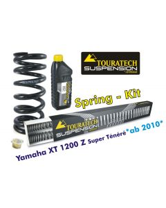 Progressive replacement springs for fork and shock absorber for Yamaha XT1200Z Super Tenere from 2010
