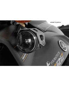 Zusatzscheinwerfer LED Satz Nebel/Nebel, schwarz eloxiert, für Yamaha XT1200Z Super Tenere