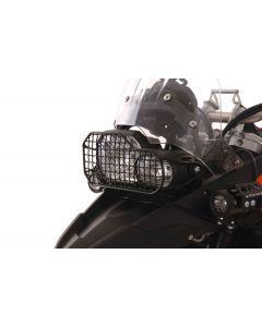 Scheinwerferschutz Stahl BMW F800GS/F800GS Adventure/F700GS/F650GS(Twin)/F800R bis 2014 *OFFROAD USE ONLY*