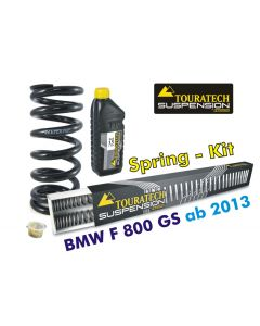 Hyperpro progressive replacement springs for fork and shock absorber, BMW F800GS / Adventure *from 2013*