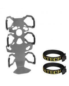 ZEGA Pro/ZEGA Mundo - Adapter plate with straps protection: bottle holder single