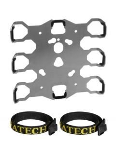 ZEGA Pro/ZEGA Mundo - Adapter plate universal, with straps protection, without support angle