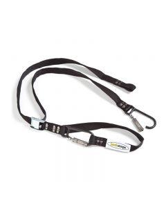 Lockstraps - tie-down straps with lockable hooks