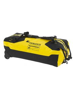 Travelbag Duffle RS with wheels, 110 litres, yellow, by Touratech Waterproof