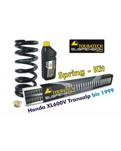 Hyperpro progressive replacement springs for fork and shock absorber, Honda XL600V Transalp 1989-2000 *replacement springs*