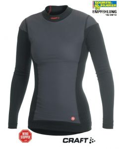 Active Extreme Windstopper long sleeve shirt *Women's*, Colour: black