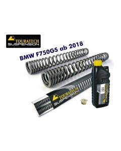 Progressive fork springs for BMW F750GS from 2018