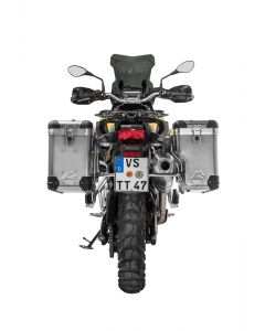 ZEGA Pro2 special system 38/38 litres with stainless steel rack for BMW F850GS/ F850GS Adventure/ F750GS