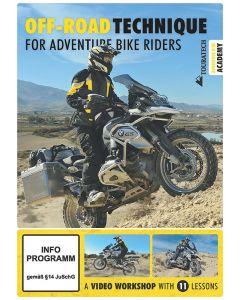"Video DVD ""Off-road technique for adventure bike riders"" (englisch)"