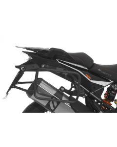 Kofferträger schwarz für KTM 1050 Adventure/ 1090 Adventure/ 1290 Super Adventure/ 1190 Adventure/ 1190 Adventure R