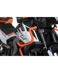 Stainless steel fairing crash bar, orange for KTM 790 Adventure/790 Adventure R