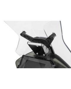 GPS-Anbauadapter über Instrumente, für KTM 890 Adventure/ 890 Adventure R/ 790 Adventure / 790 Adventure R / 390 Adventure, Anbauadapter / GPS-Halter / Navi-Halter Navigationsgerätehalter