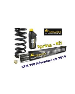 Progressive replacement springs for fork and shock absorber, für KTM 790 Adventure ab 2019