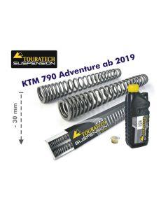 Progressive fork springs for KTM 790 Adventure from 2019 -30mm lowering
