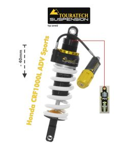 Touratech Suspension Tieferlegung -40mm Honda CRF1000L Adventure Sports ab 2018 Typ Explore HP/PDS
