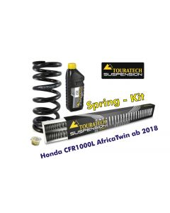 Progressive replacement springs for fork and shock absorber, Honda CRF1000L Africa Twin from 2018