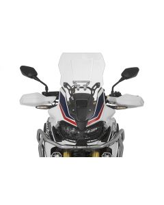 Windschild, L, transparent, für Honda CRF1000L Africa Twin/ CRF1000L Adventure Sports