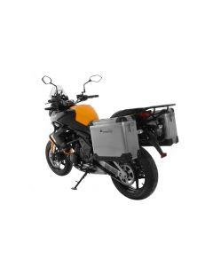 ZEGA Pro Koffersystem 31/31 Liter mit Stahlträger schwarz für Kawasaki Versys 650 (2010-2014)
