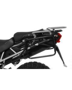 Kofferträger Edelstahl für Triumph Tiger 800/ 800XC/ 800XCx, schwarz