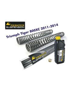 Progressive fork springs for Triumph Tiger 800XC 2011-2014