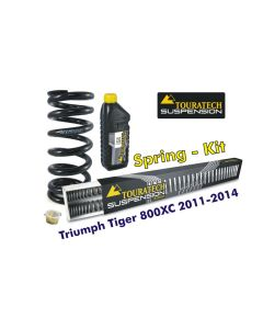 Progressive replacement springs for fork and shock absorber Triumph Tiger 800XC 2011-2014 *replacement springs*