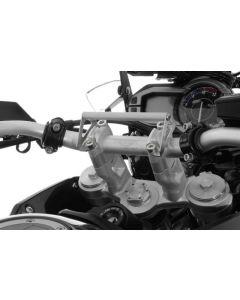 GPS Anbauadapter Lenkerklemmung für Triumph Tiger 900/ 1200/ 800/ Explorer Anbauadapter / GPS-Halter / Navi-Halter Navigationsgerätehalter