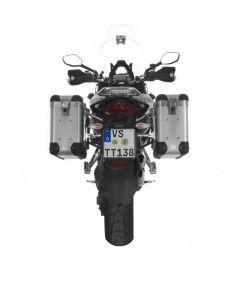 ZEGA Pro2 Koffersystem 31/31 Liter mit Edelstahlträger für Ducati Multistrada 1200 bis 2014