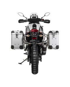 "ZEGA Pro2 Aluminium Pannier System ""And-S"" 31/38 litres with stainless steel rack for Yamaha Tenere 700"