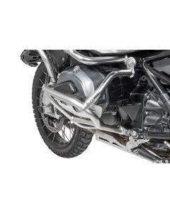 Verstärkungsstrebe Edelstahl für Original BMW Motorschutzbügel + Touratech Sturzbügelerweiterung, BMW R1200GS Adventure (LC) 2014-2016