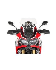 Windschild, M, transparent, für Honda CRF1000L Africa Twin/ CRF1000L Adventure Sports
